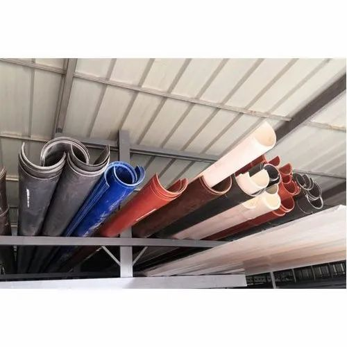 Pvc Square Rain Water Gutter Size 3 4 Rs 150 Meter Roof Art Metals Id 20834636473