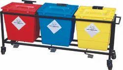 Multi Colour Waste Bin