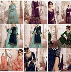 Ladies Sharara Suits