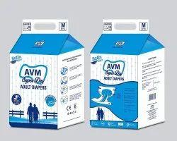 AVM Super Dry Medium Adult Diapers