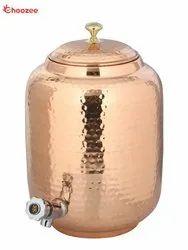 Copper Matka / Water Tank - Leakage Proof (12 Ltr.)