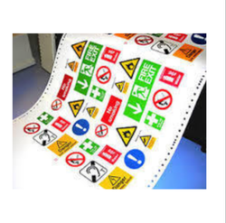 Anograph Multicolor Printed Sticker, Packaging Type: Packet