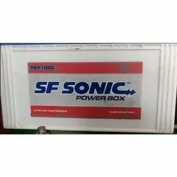SF Sonic Power Box Inverter Battery, 12v, Model Name/Number: Pbx 1000