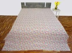 Kantha Bed Cover In Mix Design