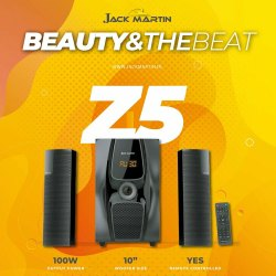 Black Jack Martin 2.1 Music System