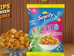 Suncity Fingers Fryums, Packaging Size: 27gm, Packaging Type: Packet