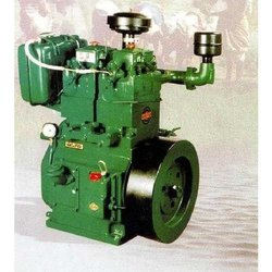 High Speed Double Cylinder Air Cooled Diesel Engine