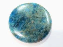 Rare Neon Blue Apatite Stone Cabochons