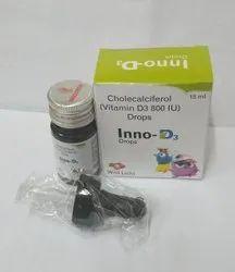 Cholecalciferol 800 IU Drops For Franchise