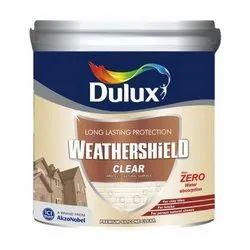 Dulux Matt Duluxe Weather Shield Clear, Roller, for Metal