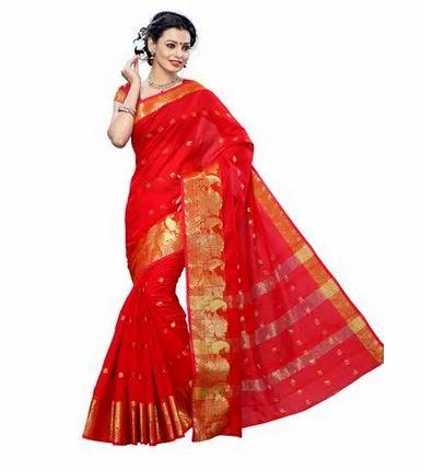 62c872dded7664 Cotton saree Collections - MIMOSA Simple Design Cotton Zari Border with  Un-Stitched Contrast Blouse Color Pista (3133-1457-ab- Ecommerce Shop    Online ...