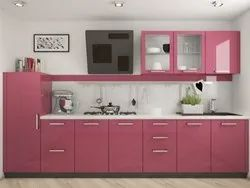 Laminated Straight Modular Kitchen