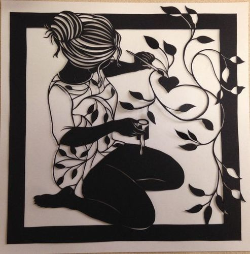 Paper Cutting Art and Art & Craft Course Manufacturer   Sam's Art ...