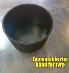 Expandable RIM Band for Tyres