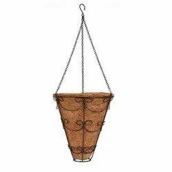 Coir Garden 9 Inch Conical Coir Hanging Basket
