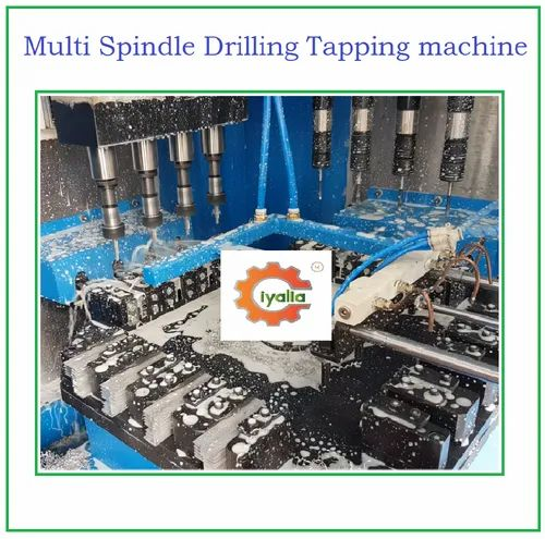 Rotary with Multi Spindle Drilling and Tapping