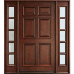 Wooden Laminated Main Door, Thickness (millimetre): 45 Mm