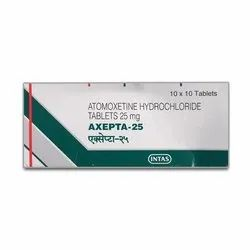 25 mg Atomoxetine Hydrochloride Tablets