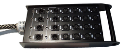 Pro Audio Stage Box for Events ,Auditorium