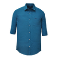 Jack Vault Oceanic Blue Regular Fit - Solid Formal Shirt - Oceanic-1038