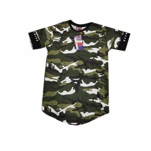 36a47622d9 Men's Cotton Army T Shirt, Rs 110 /piece, Choudhary Garments   ID ...