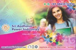 Adhava Sanitary Pad Dispenser Machine
