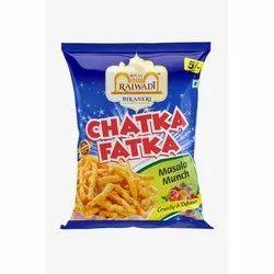 Royal Rajwadi Chatka Fatka Masala Munch Kurkure, 4 Months, Packaging Size: 35gm