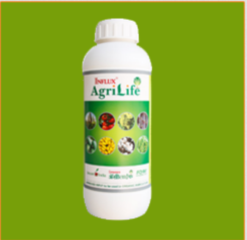 Organic Influx Agri Life Fertilizer, Pack Size: 500 Ml And 1 Ltr
