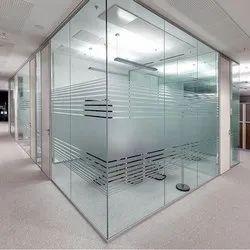 Office Glass Interior Work