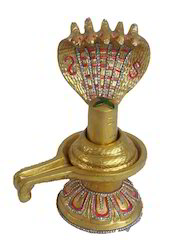 Gold Plated Shivling