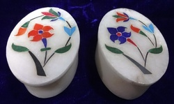 Marble Jewellery Ring  Box