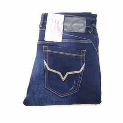 Denim Comfort Fit Mens Ankle Length Jeans