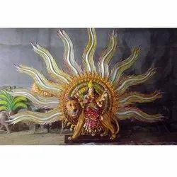 Sherawali Maa Statue