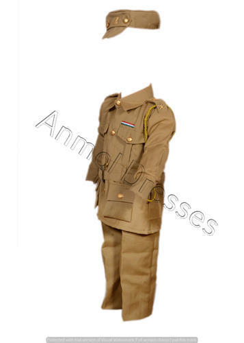 264b998791bab Baby Girls And Baby Boys Brown And Khaki Kids Police Dresses, Rs 749 ...