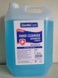 Gentle Care Hand Sanitizer 5 Ltr With Cologne Fragrance