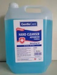 Gentle Care Hand Sanitizer With Cologne Fragrance 5 Litre