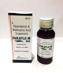 Paracetamol 250 mg & Mefenamic Acid 100 mg Suspension
