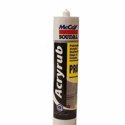 Mccoy Soudal Acryrub Pro Joint Sealants