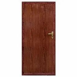 Hinged Polished PVC Plain Door