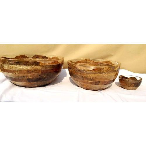 Glass Round Decorative Bowl Rs 4500 Set Hm Inc Id 19489507855
