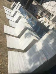 Shree ji White Rajsamand Marble, For Flooring, Thickness: 16 mm