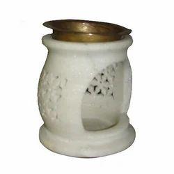 White Marble Aroma Lamp