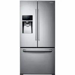 Plastic Direct Cool Samsung Triple Door Refrigerator, Top Freezer
