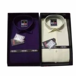 For You Formal Wear Men Full Sleeves Formal Shirt, Size: S-xxl, Machine wash