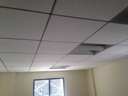 Omega Grid False Ceiling Work