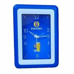 Plastic Rectangular Wall Clock