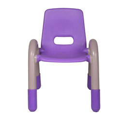 Purple Plastic Kids Chair (vj-0236)