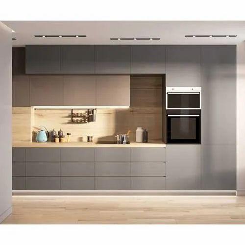 Wooden Straight Modular Grey Kitchen Cabinet Rs 85000 Piece S S Mokshith Id 22177653062
