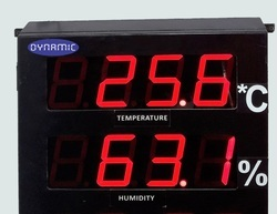 Temperature And Humidity Indicator