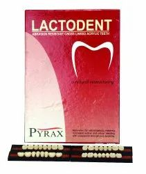 Lactodent Abrasion Resistant Cross Linked Acrylic Teeth